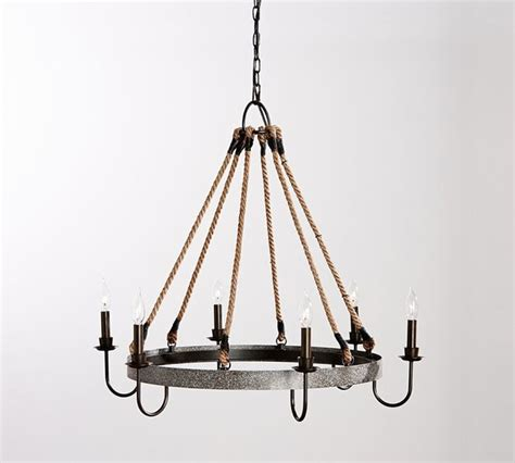 napa wine barrel chandelier industrial chandeliers