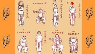 8 Section Brocade by Baduanjin Eight Section Brocade Qigong Dvd