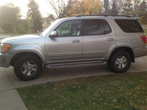2002 Toyota Sequoia Problems Buy Used 2002 Toyota Sequoia Limited Sport Utility 4 Door