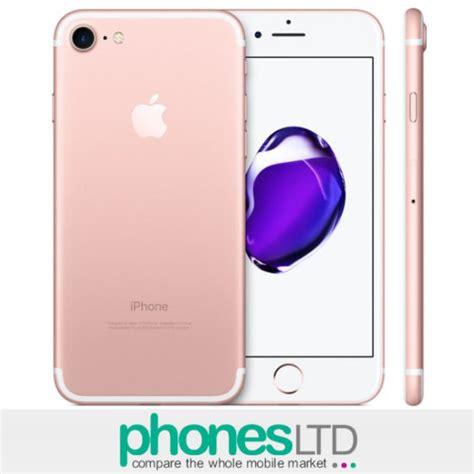 Apple Iphone 7 Rosegold 256gb apple iphone 7 256gb gold giffgaff deals phones ltd