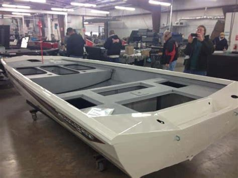 aluminum bass boat tournaments the making of a ranger aluminum bass boat in photos