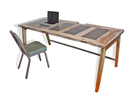 desk made from a door repurposed items ideas