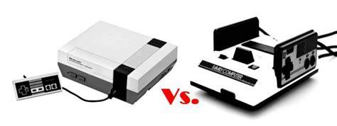 nes classic mini vs famicom nostalgia war nes classic edition vs famicom mini