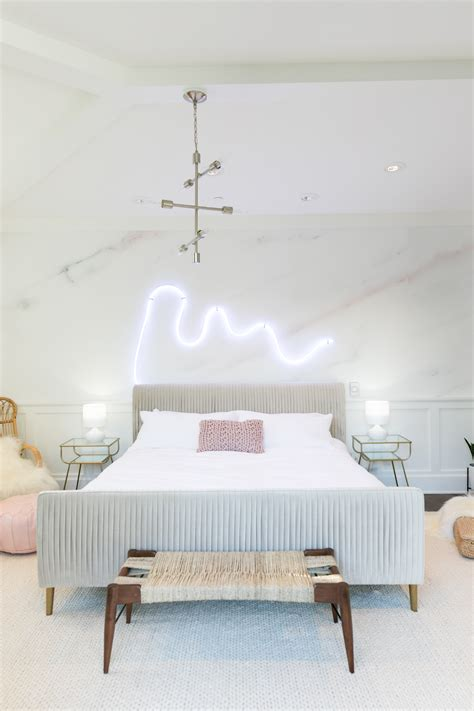 diy com bedrooms mr kate diy led neon sign