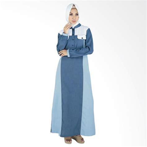 Baju Muslim Raindoz Rgs 020 jual raindoz rgs 047 balqis baju muslim wanita blue sky