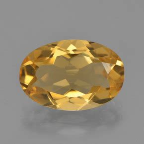 Citrine Quartz 2 8ct gold citrine 2 8ct oval from brazil and untreated