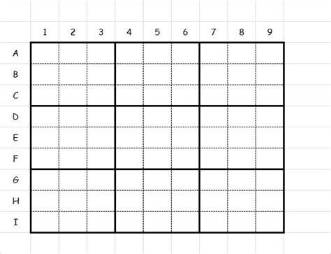 free printable kingdom sudoku blank sudoku template excel