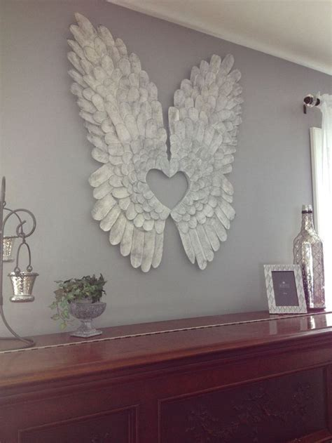 angel wings wall art ideas  pinterest