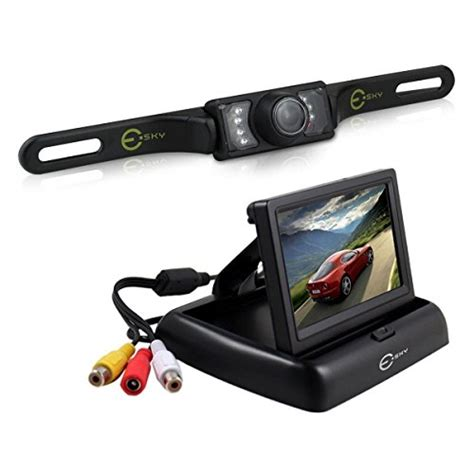 esky ec170 20 4 3 inch rear view tft lcd monitor with 135