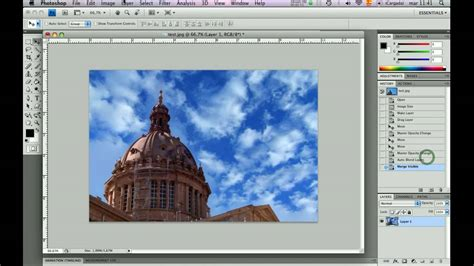 tutorial photoshop cs5 fusionar imagenes photoshop tutorial fusionar capas autom 225 ticamente youtube