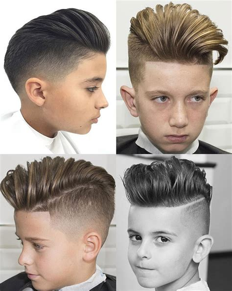 kids pompadour toddler boy haircuts some great choices