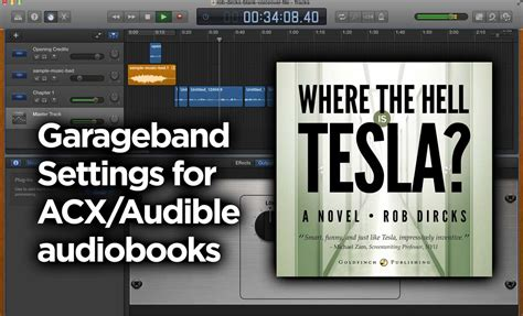 Garageband Book Garageband Settings Audiobook Acx Audible Goldfinch