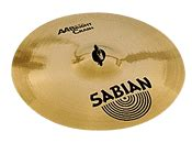 Sabian Aa Bright Crash Cymbal 16 bright crash cymbal