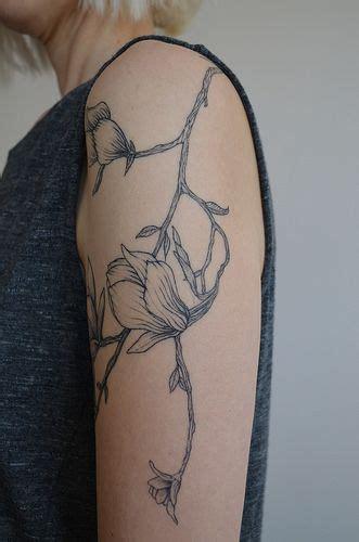 50 magnolia flower tattoos forearm sleeve tattoos br 252 cius floral magnolia tattoo down side of arm if i was
