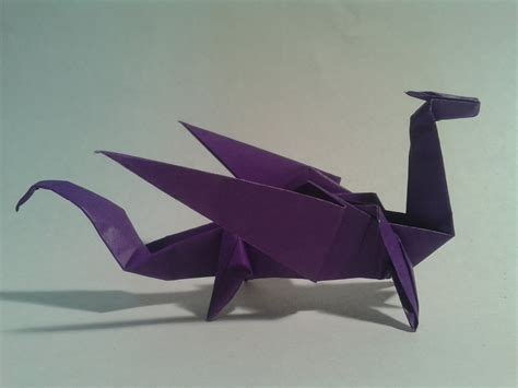 How To Make Paper Dragons - origami how to make an easy origami