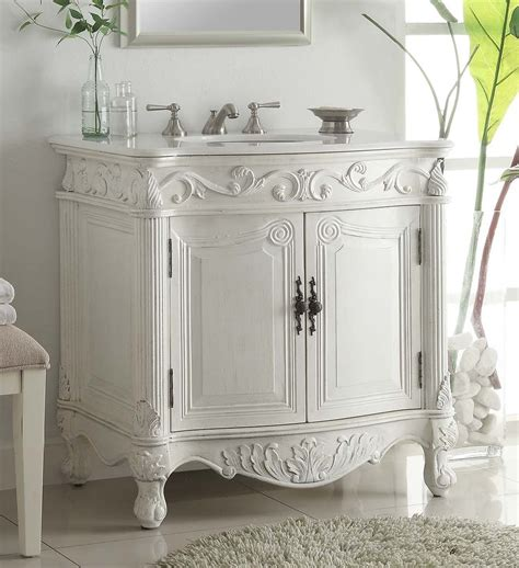 Antique Bathroom Vanity Bathroom Vanity Adelina 30 Inch Bathroom Vanities Antique White
