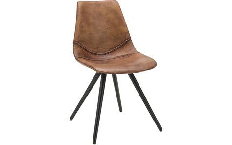 goossens stoelen eetkamerstoel dott bruin leer kopen goossens