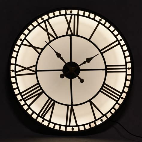 in light clock illumination light up clock large