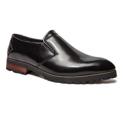 slip on dress shoes in black sammydress