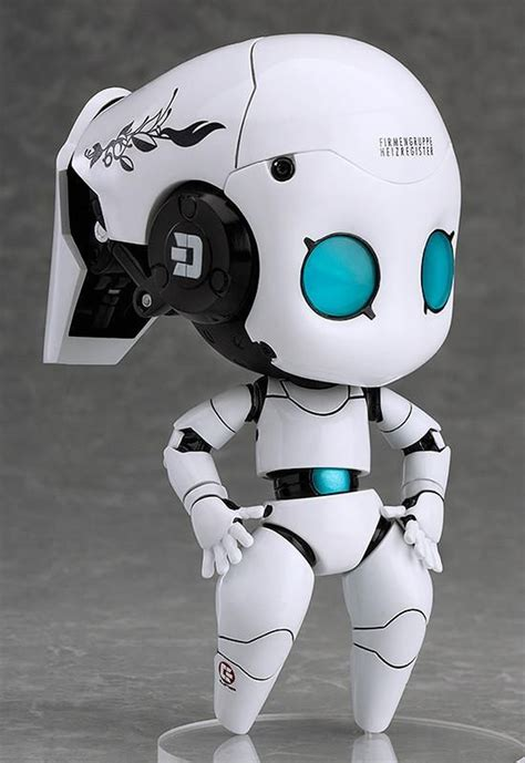 Echo Robot Looks For Other Friendly Bots by Nendoroid Org Drossel Charming Fireball Charming