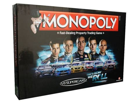 Which Monopoly Board Game Editions Are Car or Racing