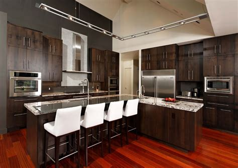 Track Lighting For Kitchen Ceiling Kitchen Track Lighting Contemporary With Counter Stools Vented Wall Mount Range Hoods