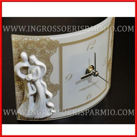 cornici bomboniere matrimonio cornici portafoto orologio e piattino sposi stilizzati