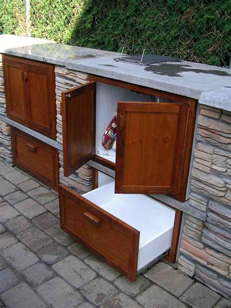 Out Door Cabinets by Outdoor Wood Cabinet Home Furniture Design