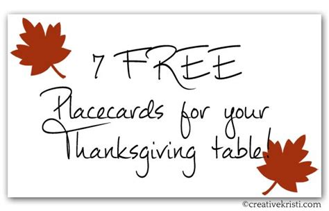 printable thanksgiving table cards 1000 images about thanksgiving on pinterest place cards