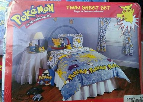 pokemon bedroom pokemon bedroom 1998 rooms pinterest