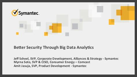 better analytics better security through big data analytics