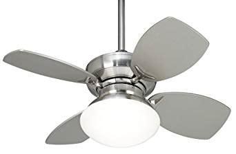 28 ceiling fan with light casa vieja hana bay ceiling fan 28 quot brushed nickel