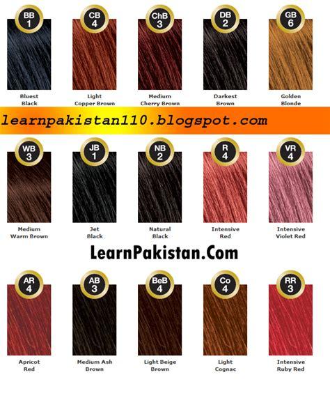 best hair colour brand best hair color brands in pakistan urdu learnpakistan