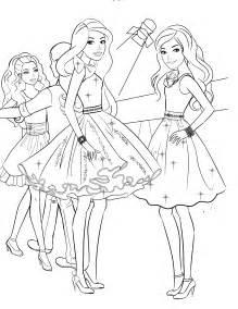 barbie 26 coloringcolor