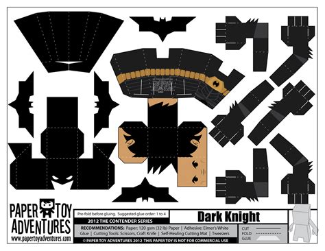 Batman Papercraft - batman papercraft and paper models on