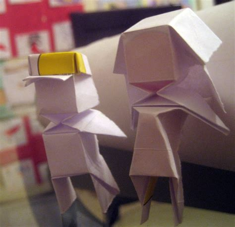 Origami Boy - origami boy and by musicmixer112 on deviantart