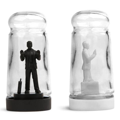 Funny Salt And Pepper Shakers Drowning In Debt Salt And Pepper Shakers The Green Head