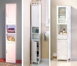 slim bathroom cabinet on narrow bathroom storage