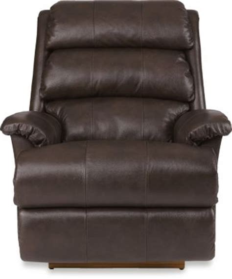 la z boy leather rocker recliner la z boy astor chocolate leather power rocker recliner