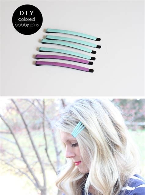 colored bobby pins with an i e diy colored bobby pins