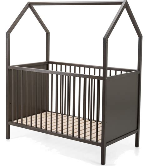 Grey Baby Cribs Stokke Home Crib Hazy Grey
