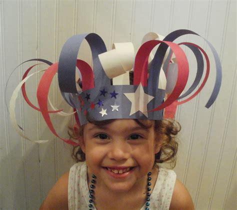Paper Hats For Preschoolers - learning patriotic preschool hats