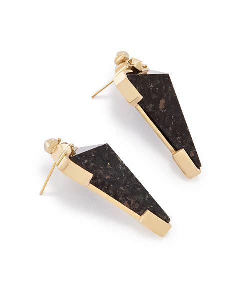 Triangle Statement Earrings libby triangle statement earrings kendra jewelry