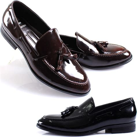 formal loafers for new mooda modern formal tassel loafers slips on leather