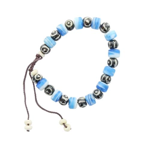 cord bead bracelet wholesale cord and bead bracelet blue