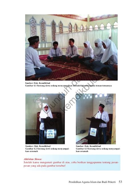 Memahami Pendidikan Agama Islam Untuk Smk Kelas Xi Pendidikan Agama Islam Dan Budi Pekerti Kelas Xi Buku Siswa