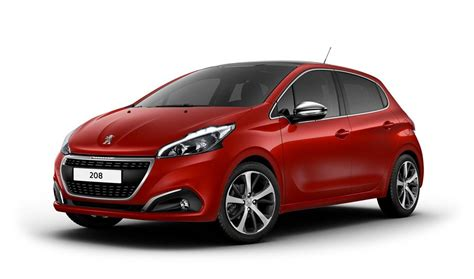 peugeot 208 red peugeot rouge
