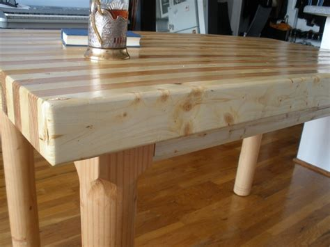 dining table dining table butcher block