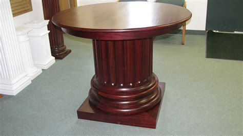 Table Column by Mahogany Table Somerset Door Column Co