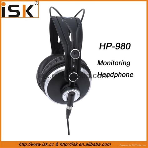 Isk Hp 980 Studio Headphone professional high quality monitoring headphone hp 980 isk china manufacturer electronics